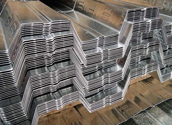 Lámina de acero deck 25