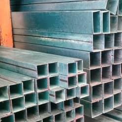 Perfil acero tubular galvanizado acero