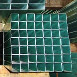 Perfil acero tubular galvanizado